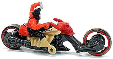 Hot Wheels SKULLFACE 1:64 Scale Motorcycle with Rider