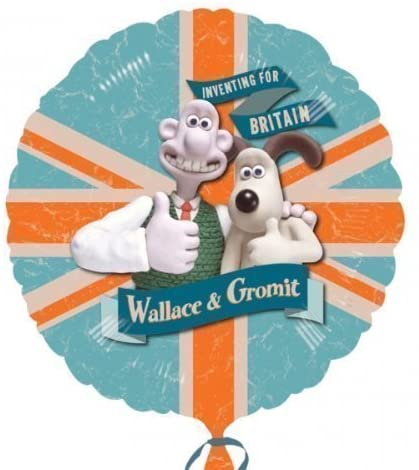 Anagram XL XtraLife Wallace & Gromit 18 Inch Foil Celebration Balloon