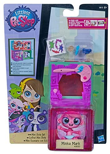 Hasbro Littlest Pet Shop Mini Style Set Minka Mark