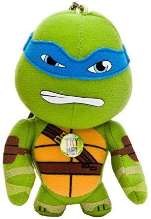 Turtles 010329 Donatello with Sound and Keyring, 13 cm