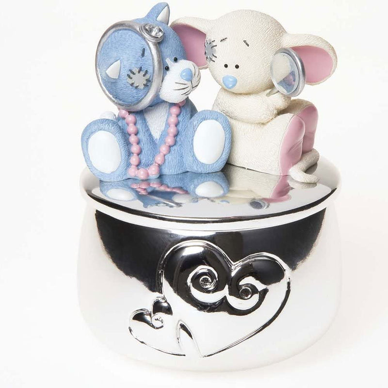 My Blue Nose Friends Me to You Bear Trinket Box