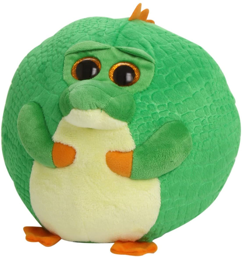 TY Beanie Ballz 38555 Bayou the Crocodile 23 cm Plush Soft Toy
