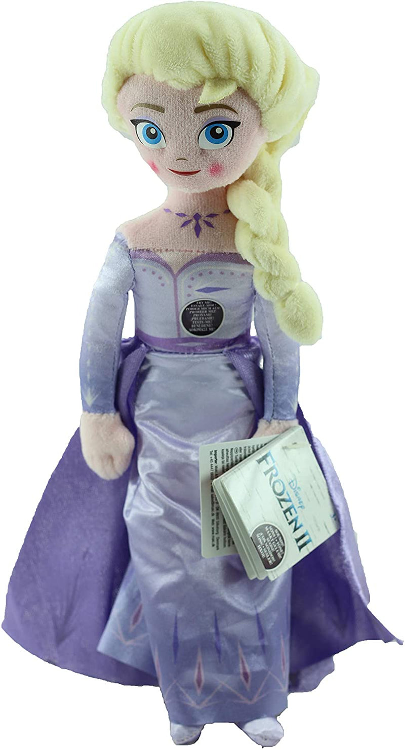 "Frozen 2 - Super Soft Plush Toy with Sounds 10"" 25cm - Elsa"