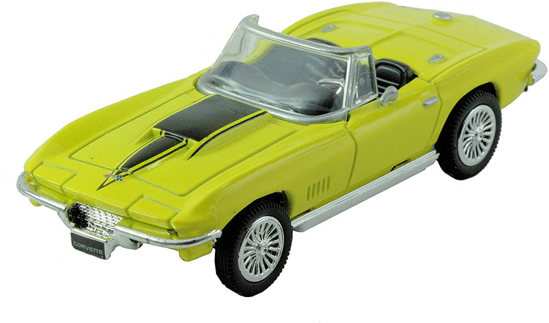 Corvette 1967 Convertible in Yellow - All American City Cruiser Collection 1:43 Diecast