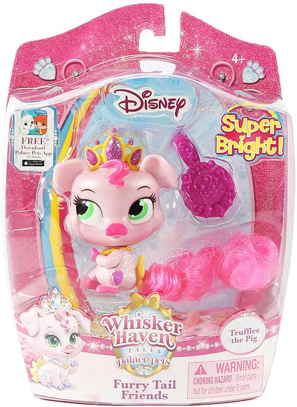 Disney Whisker Haven Tales with the Palace Pets Furry Tail Friends Super Bright - Truffles the Pig