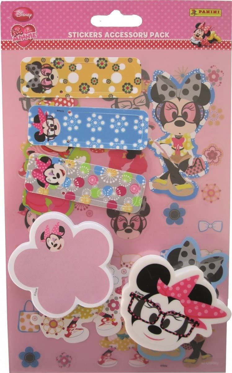 Disney Junior Panini Minnie Mouse Accessory Packs