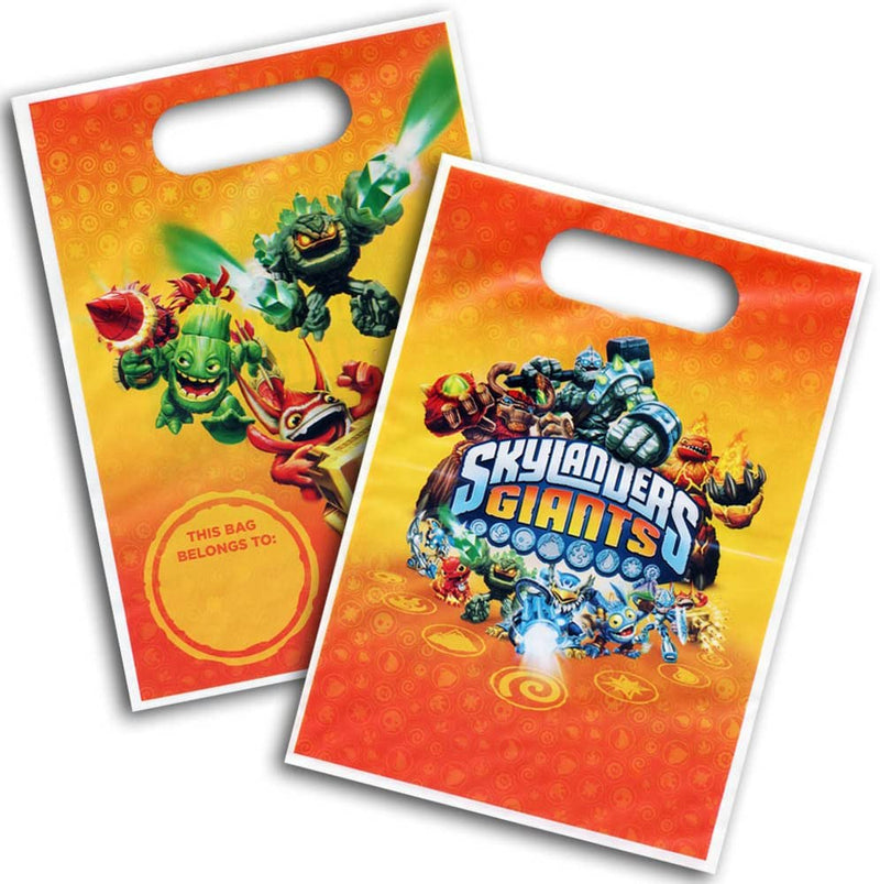 Skylanders Giants Party Lootbag - Pack of 8