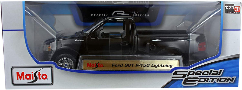 Maisto Special Edition Ford SVT F-150 Lightning in Black 1:21 Scale Diecast Model