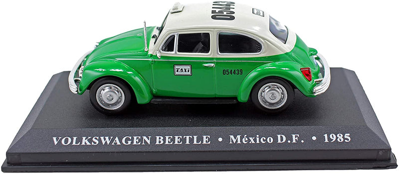 VOLKSWAGEN BEETLE 1985 MEXICO TAXI CAR MODEL 1/43RD SCALE CLASSIC TYPE Y0675J^*^