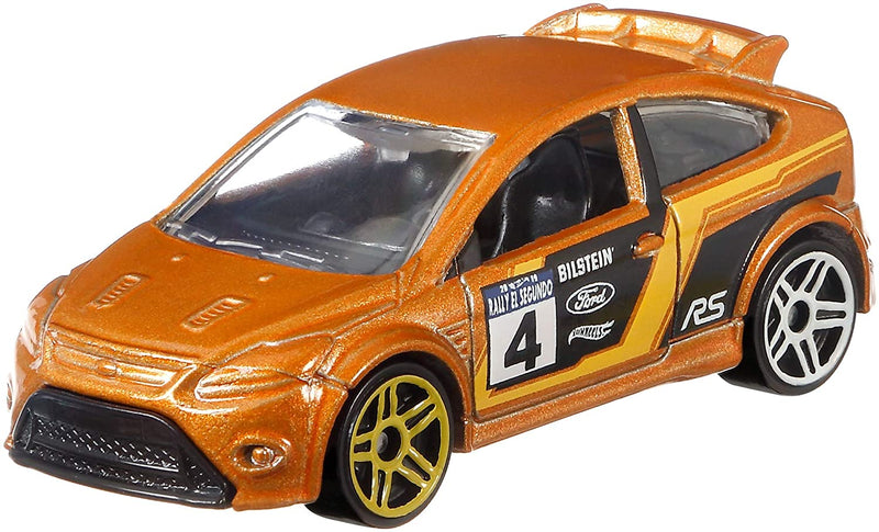 Hot Wheels Mattel FYY02, Backroad Rally Series '09 Ford Focus Rs 1:64