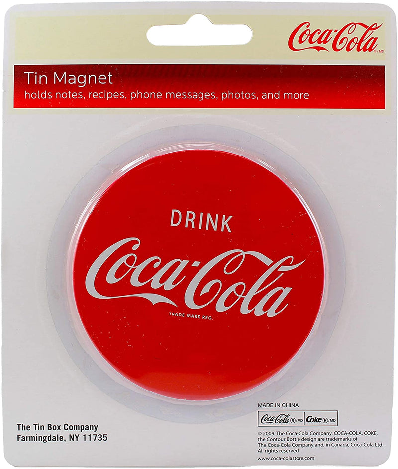 Coca-Cola Red Circle Drink Fridge Magnet