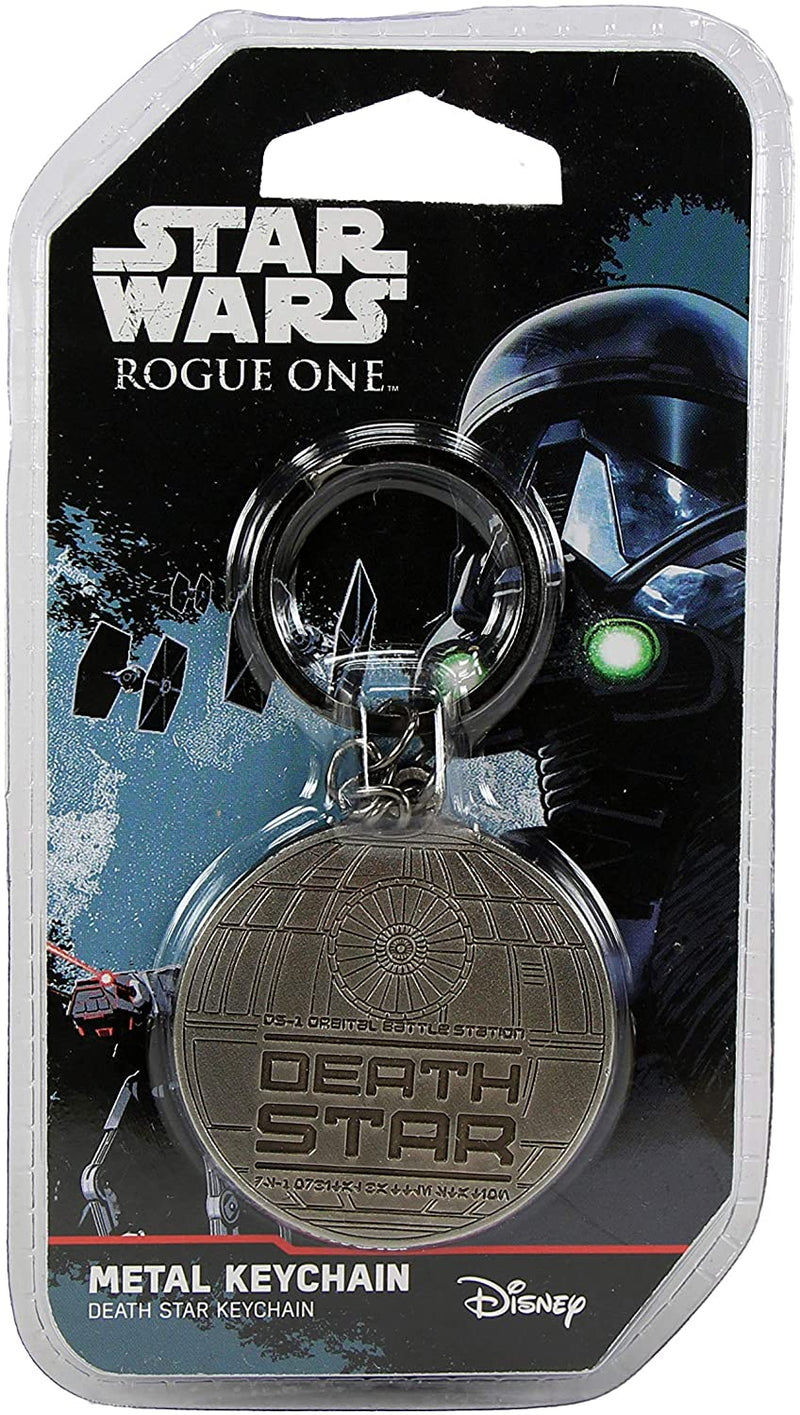 Star Wars Rogue One Death Star Metal Keychain Keyring