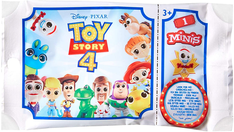 Mattel GCY17 Toy Story 4-Mini Figure Blind Bag, Multi