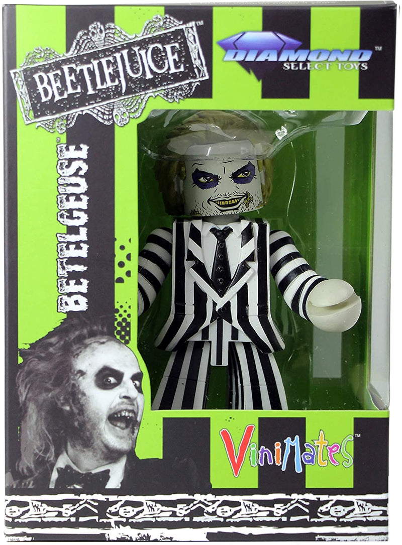 Diamond Select Toys NOV162425 Beetlejuice Vinimates Betelgeuse Vinyl Figure - 4 Inch