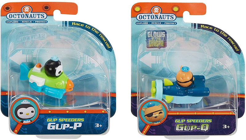 Octonauts Fisher Price Gup Speeders 2 Pack - GUP-P & GUP-Q