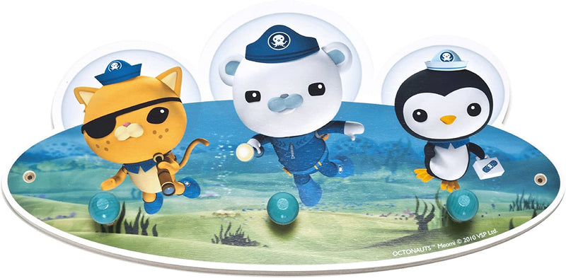 Joy Toy 233928 35 cm Octonauts Wooden Coat Hook in Gift Wrap