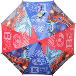 Nickelodeon Blaze and The Monster Machines Red & Blue Children's Automatic Umbrella
