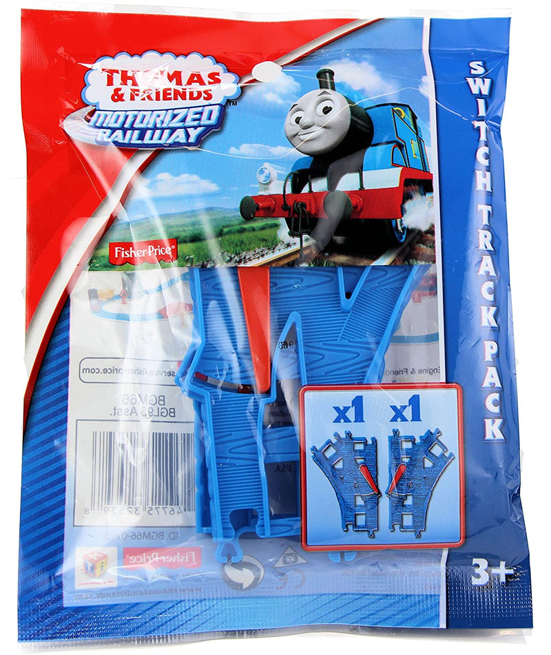 Thomas & Friends Fisher Price Motorised Railway Switch Track Pack (2 pieces)