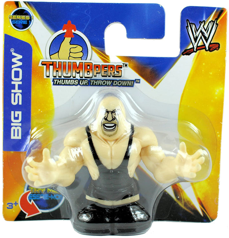 WWE Thumbpers Series 1 - Wrestling Action Toy Figure - BIG SHOW