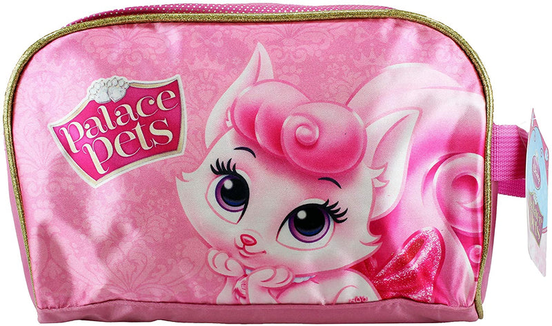 Disney Princess Palace Pets Aurora's Kitten Beauty Pink Pencil Case Toiletry Wash Bag