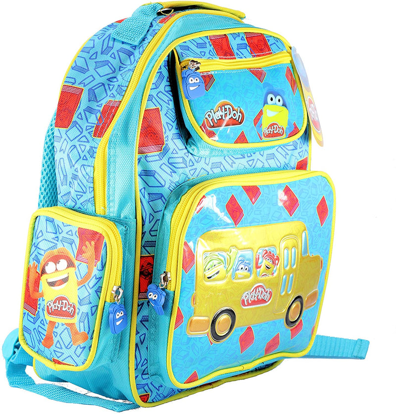 Play-Doh Playdoh Junior Deluxe Padded Rucksack Backpack School Bag with 3 zipped pockets & bottle sleeve