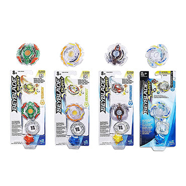 Beyblade Burst Battling Tops Set of 4 - Yegdrion, Unicrest, Miniboros & Fengriff F2 Evolution Top - S1