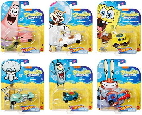 Hot Wheels Spongebob
