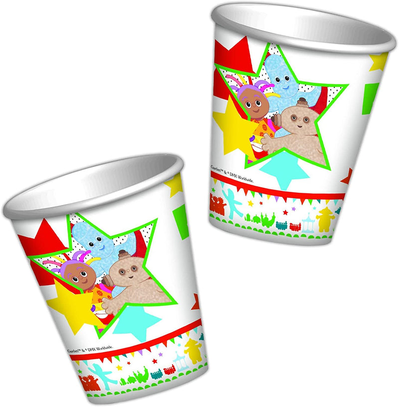 Official In the Night Garden Party Cups - Pack of 8