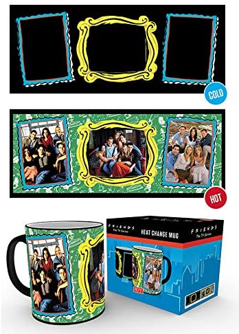 Official Friends Picture Frames Heat Change Mug Cup New In Box