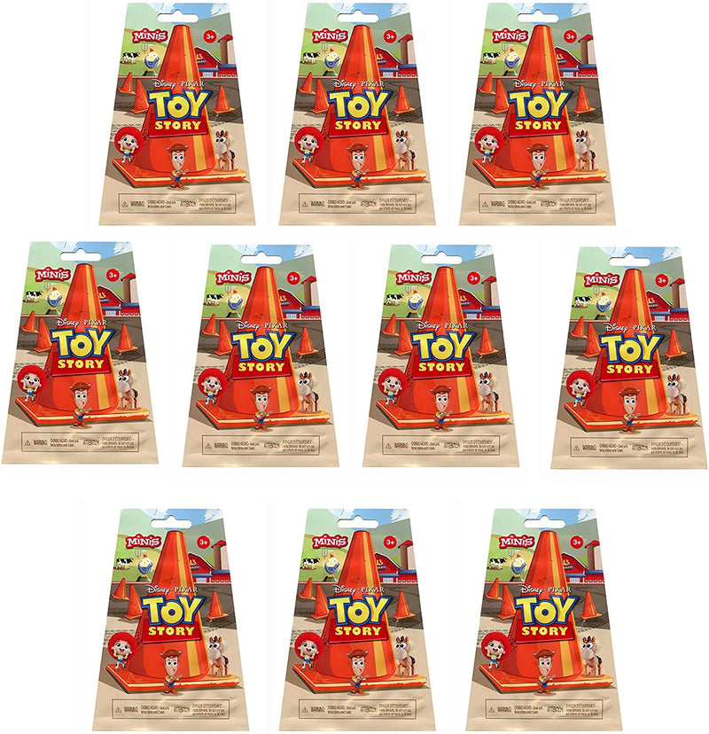 Toy Story 2 Mini Figures Blind Bag Al's Toy Barn Party Favours Pack of 10