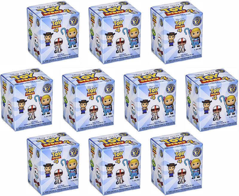 Funko Toy Story 4 Mystery Minis Vinyl Figure Blind Box Suprise - Pack of 10