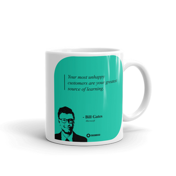 "Bill Gates ""Unhappy Customer"" Mug"