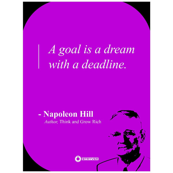 "Napoleon Hill ""Goals."""