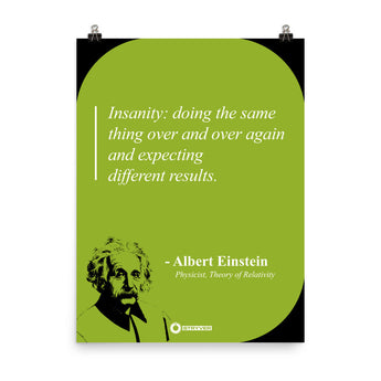 "Albert Einstein ""Insanity"""