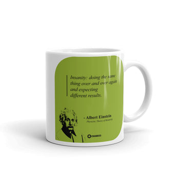 "Albert Einstein ""Insanity"" Mug"