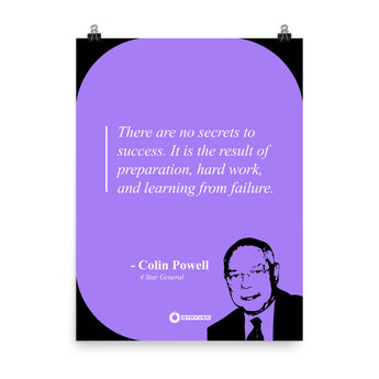 "Colin Powell ""Secrets to Success"""