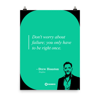 "Drew Houston ""You Only Have to be Right Once"""