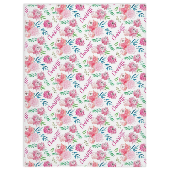 Full Bloom - Personalized Minky