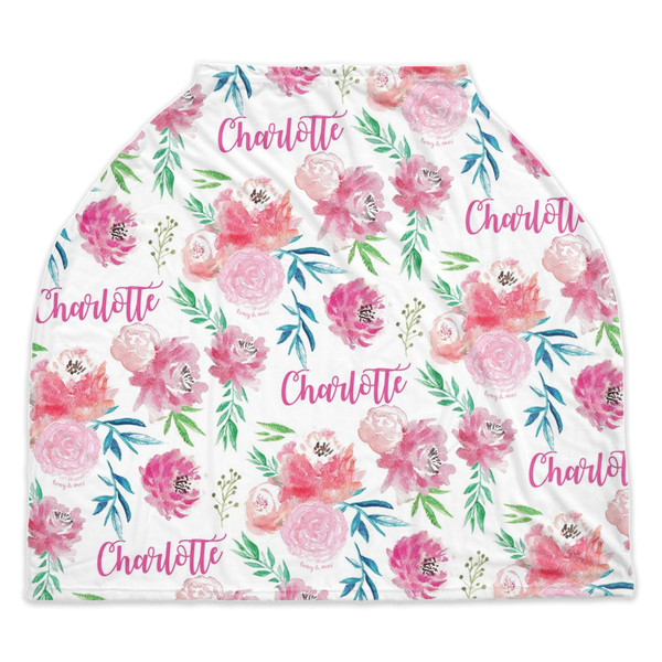 Full Bloom - Personalized Multi Use Nursing Cover