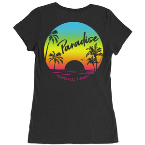 Paradise Found Crew Neck Tee - Women's