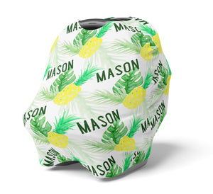 Pineapple - Personalized Multi Use Nursing Cover