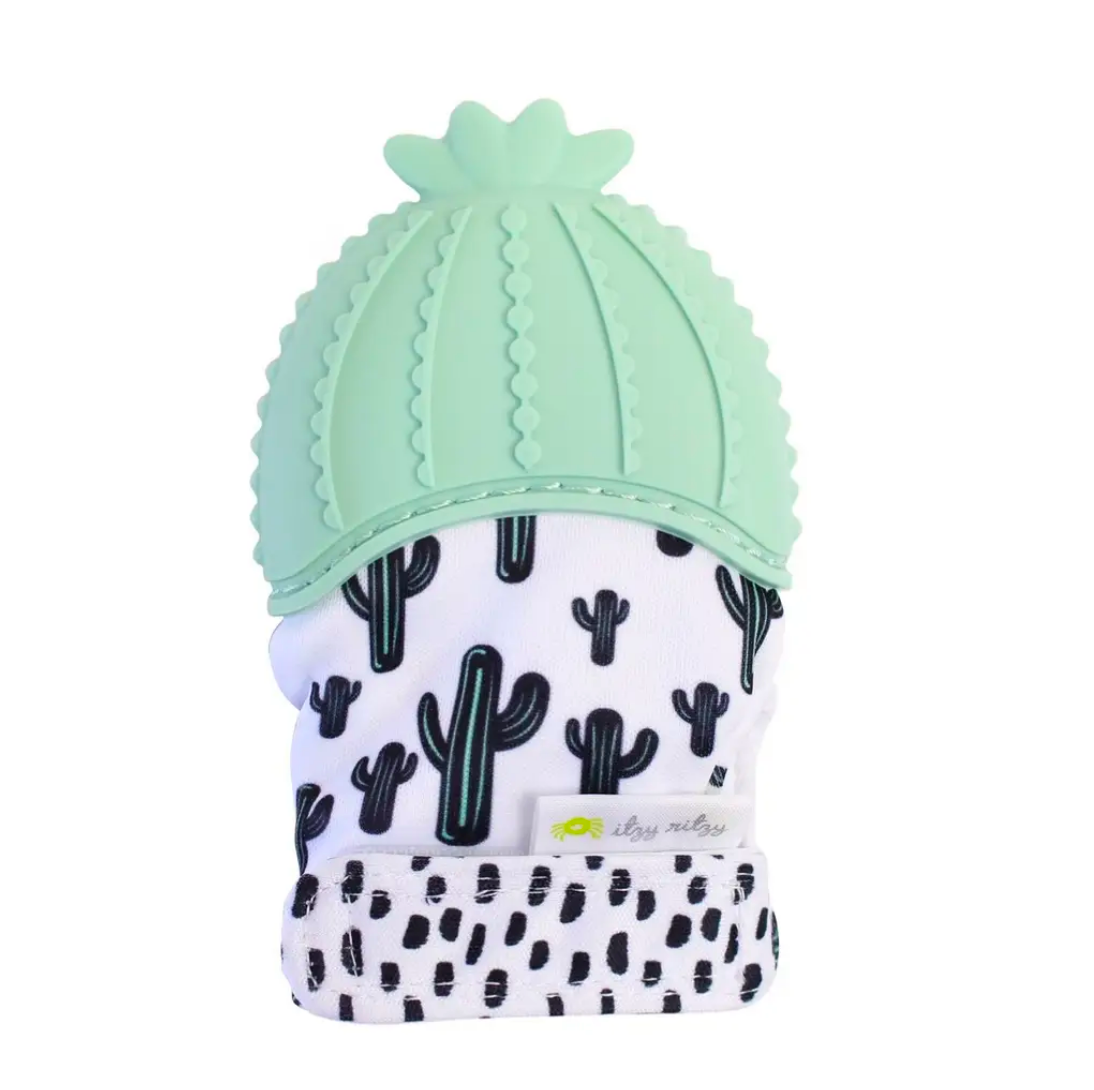 Catcus Teething Mitt