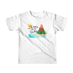 In Lava with Dada - Short Sleeve Kids Tee