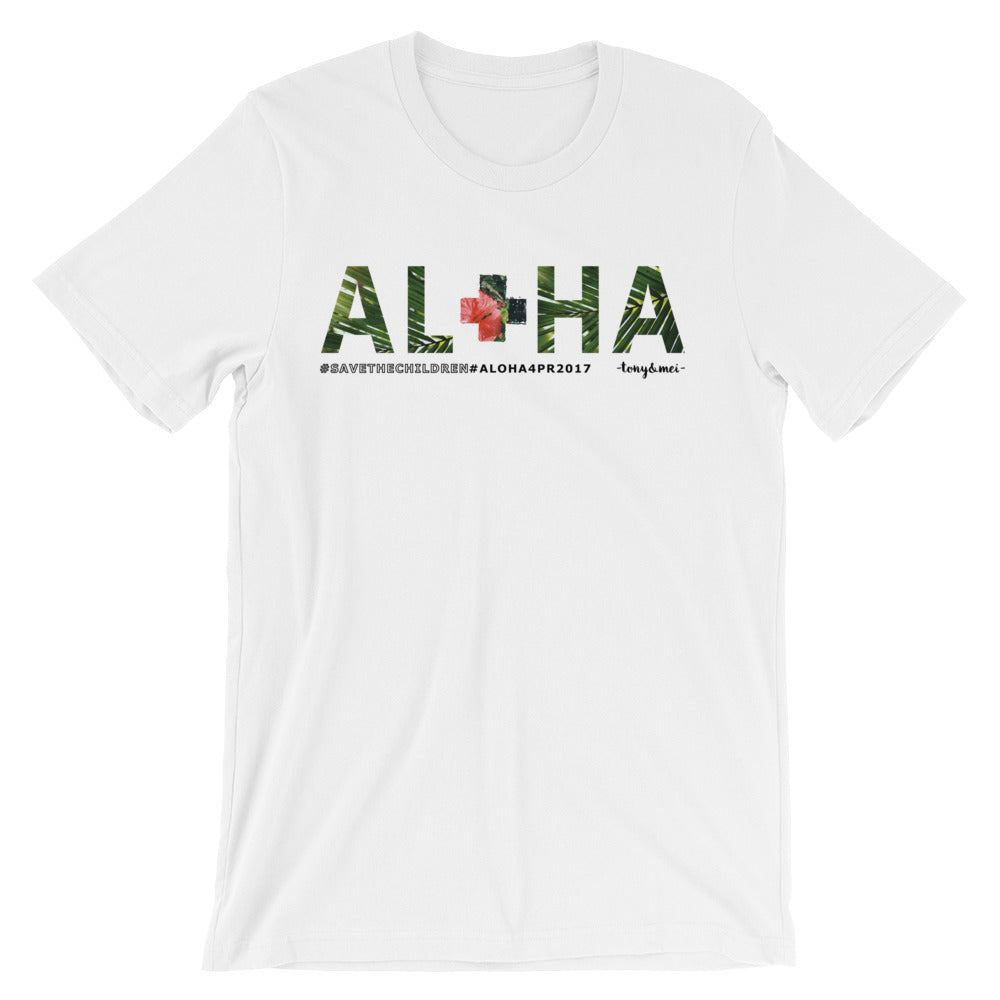 Aloha for Puerto Rico Benefit Short-Sleeve Unisex T-Shirt
