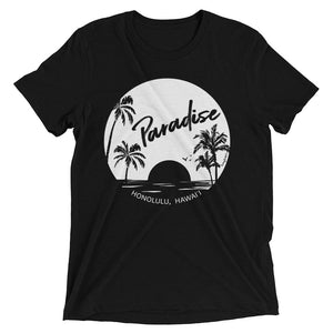 Paradise Found, Solid White - Short Sleeve T-shirt