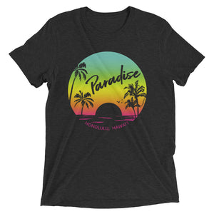 Paradise Found, Sunset - Short Sleeve T-shirt