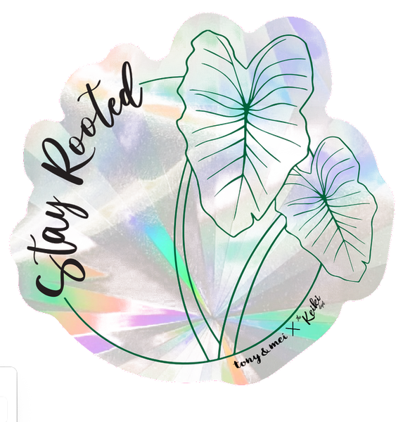 Rainbow Maker Suncatcher Decal - Stay Rooted, The Keiki Dept Collab