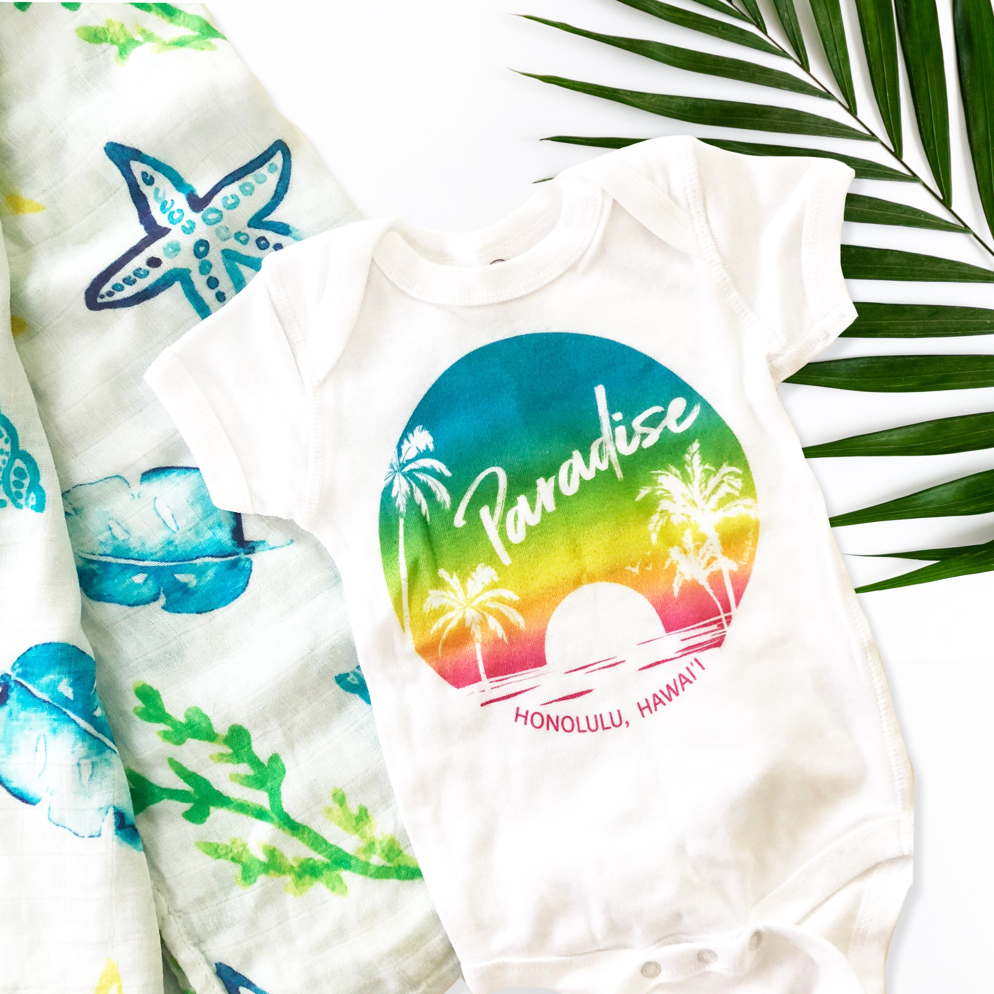 Paradise Found, Sunset - Infant Bodysuit