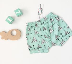 SALE: Aqua Tee Pee Shorts