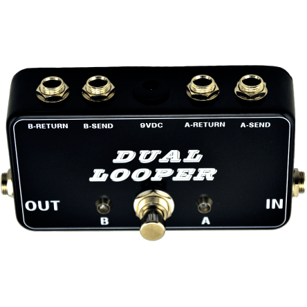 Dual Looper Toggle Guitar Effect Pedal